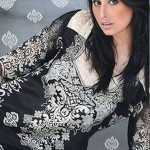 Aalishan Chiffon Latest Dresses Lawn 2013 by Dawood Textiles 004