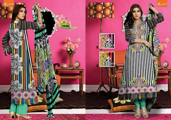 Al Hamra Textiles Kashish Lawn Collection 2013 Volume 3 001