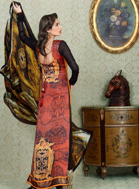 Asim Jofa Charmeuse Silk Collection 2013 For Women 001