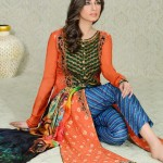 Asim Jofa Charmeuse Silk Collection 2013 For Women 002