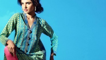 Bonanza New Eid Dresses 2013 by Sanam Chaudhri 001