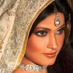 Bridal Make up Looks Beautiful Pakistani Bridal Face Make up (6)
