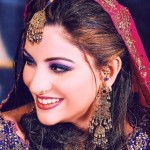 Bridal Make up Looks Beautiful Pakistani Bridal Face Make up (7)