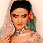 Bridal Make up Looks Beautiful Pakistani Bridal Face Make up (8)