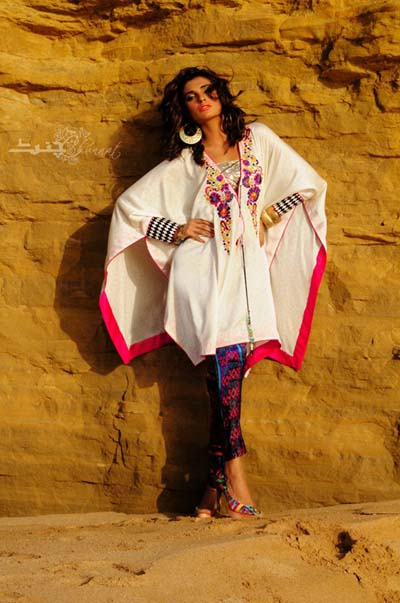 Chunnat Latest Summer Dresses Collection 2013 05