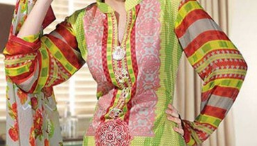 Dawood Hajiba De Chiffon Vol 3 For Women Collection 2013 001