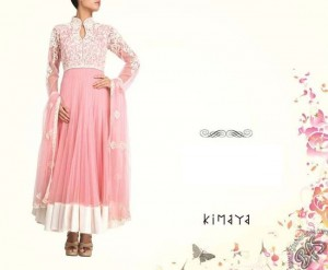 Kimaya Pradeep Agarwals Anarkali Collection 2013 Girl Women 004