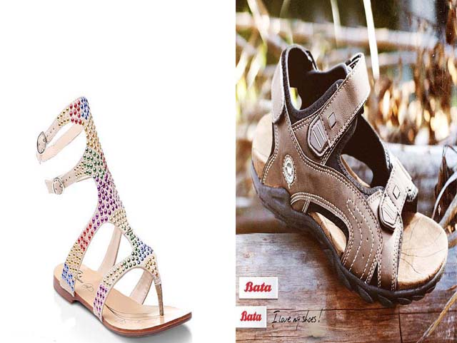 Latest Beautiful Eid Shoes Collection 2013 For Women & Man By Bata (7)