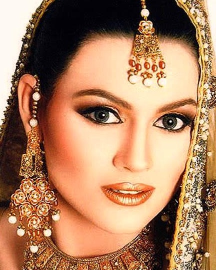 Latest Bridal Make up Ideas 2013 For Bridals 002