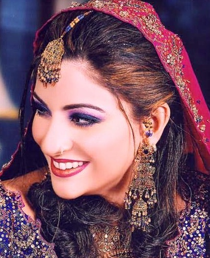 Latest Bridal Make up Ideas 2013 For Bridals 003