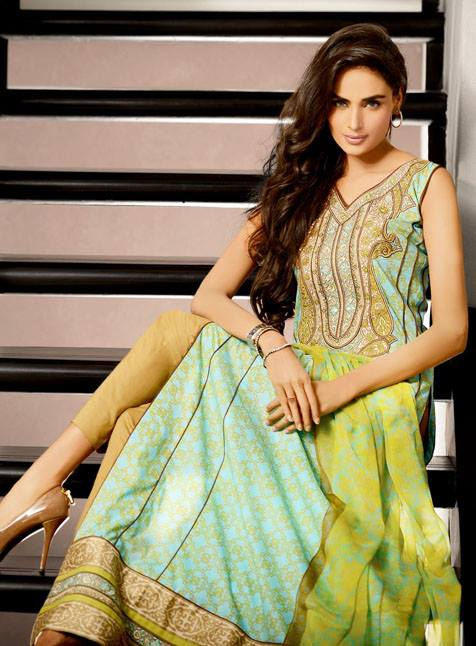 Mehdi Prints Royal Eid Collection 2013 For Women 002