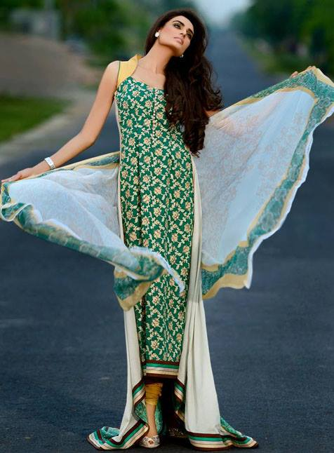Mehdi Prints Royal Eid Collection 2013 For Women 004