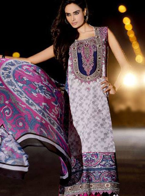 Mehdi Prints Royal Eid Dresses Collection 2013 004