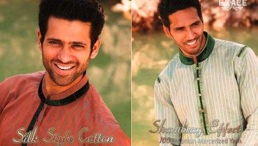 Collection 2013 For Men Grace Fabrics Eid Kurta