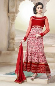 New Anarkali Frock Eid Collection 2013 For Women Natasha Couture 001