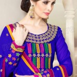 New Anarkali Frock Eid Collection 2013 For Women Natasha Couture 002