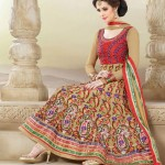 New Anarkali Frock Eid Collection 2013 For Women Natasha Couture 005