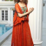 Nida Azwer Party Wear Eid Collection 2013 For Girls 004