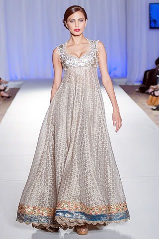 Noman Rana London Fashion Week Bridal wear Outfits 2013 (3)