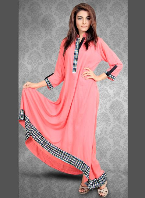 Red Tree Kurties Collection Latest Dresses 2013 002