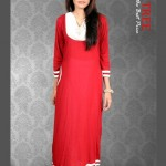 Red Tree Kurties Collection Latest Dresses 2013 003