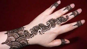 Stylsih Eid Mehndi Design 2013 For Girls 001