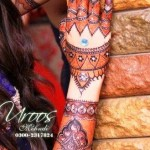 Stylsih Eid Mehndi Design 2013 For Girls 002