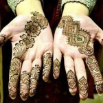 Stylsih Eid Mehndi Design 2013 For Girls 005