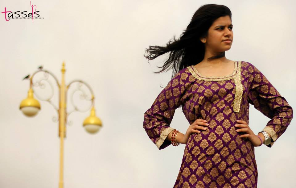Tassels Eid Collection 2013 For Girls 003