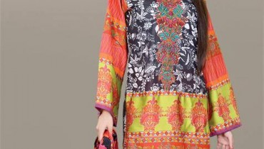 Umar Sayeed Festival Collection 2013 For Women By Al Karam 001