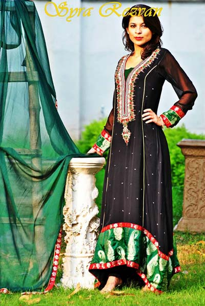 Vibgyor By Syra eid dress colletcion 2013 01