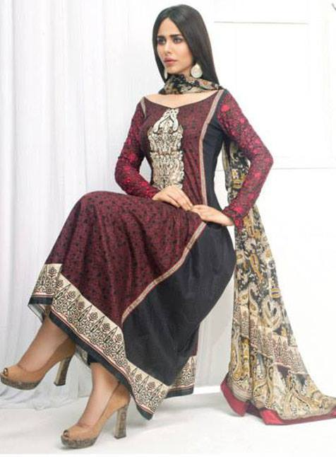 Zainab Chottani Eid Collection 2013 For Women by Shariq 001