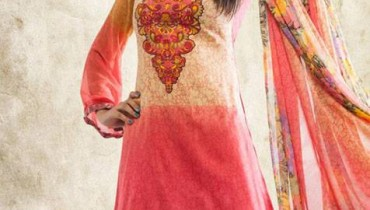 Zam Zam Chiffon Lawn 2013 by Dawood Textiles For Women 001
