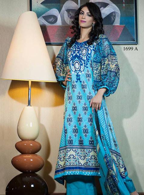 Zam Zam Chiffon Lawn Collection 2013 by Dawood Textiles 004
