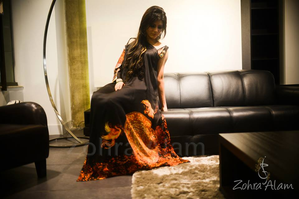 Zohra Alam Party Wear Eid Dress Collection 2013 For Women (5)
