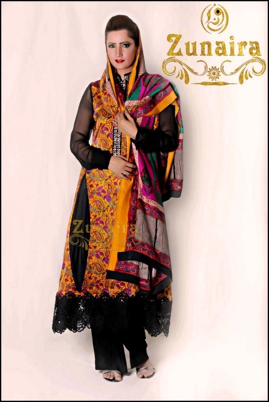 Zunaira Lounge Summer Collection 2013 for Women  6