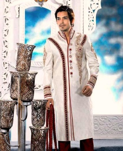 Western Sherwani Men Traditional Indo Collection