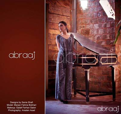Abraaj Party Wear Dresses Collection 2013 For Women 003