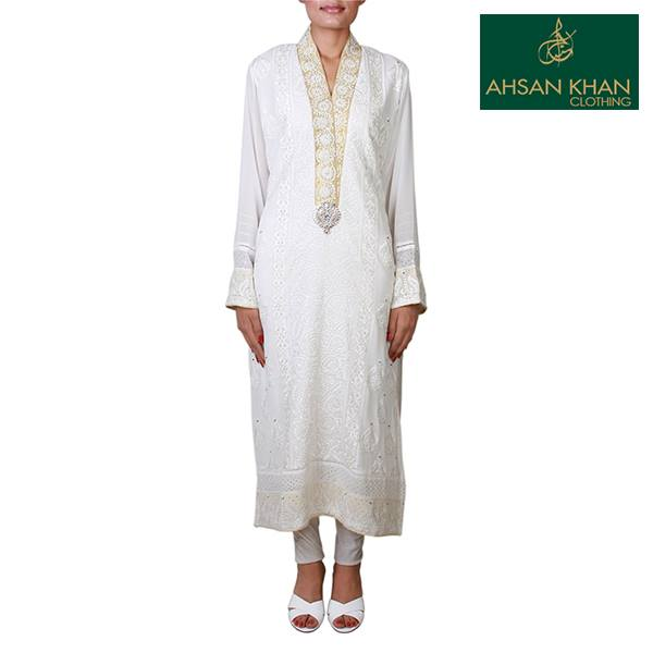 Ahsan Khan Semi Formal Party Wear Collection 2013 For Women 07