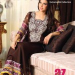 Al Zohaib Textile Mahnoor Eid Dresses 2013 For Girls 002