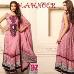 Al Zohaib Textile Mahnoor Eid Dresses 2013 For Girls 003