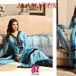 Al Zohaib Textile Mahnoor Eid Dresses 2013 For Girls 005