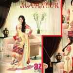 Al Zohaib Textile Mahnoor Eid Dresses 2013 For Girls 006