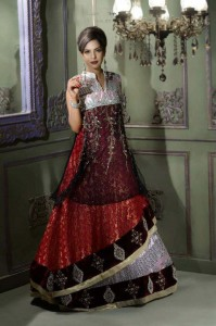 Bridals Wear Stylish Dresses 2013 For Asian Bridals 001