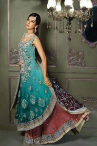 Bridals Wear Stylish Dresses 2013 For Asian Bridals 002