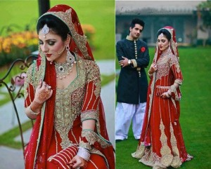 Bridals Wear Stylish Dresses 2013 For Asian Bridals 004