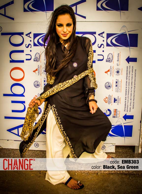 Change Mid-Summer Dresses Collection 2013 For Eid 001