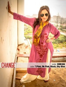 Change Mid-Summer Dresses Collection 2013 For Eid 003