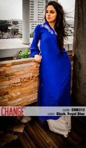 Change Mid-Summer Dresses Collection 2013 For Eid 004