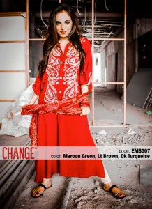 Change Mid-Summer Dresses Collection 2013 For Eid 005